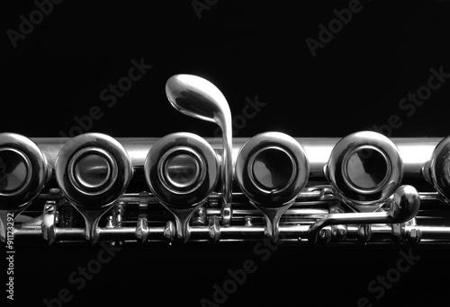 Papiers peints Musique Close Up Details Of Clarinet