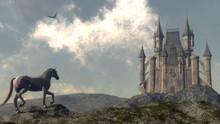 Arriving At The Castle - 3D Render