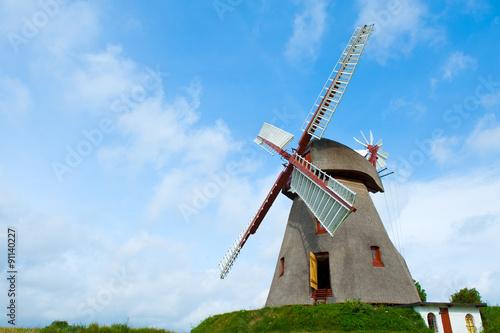 Aluminium Prints Mills old historic windmill