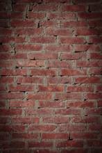 Alte Ziegelmauer Für Kreativen Hintergrund