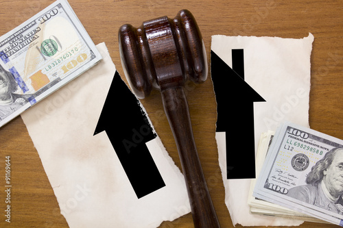 Photo  Legal division of property