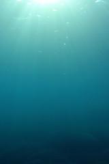 Natural underwater ocean background photo