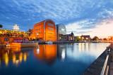Fototapeta Miasto - Bydgoszcz widok miasta o zmierzchu