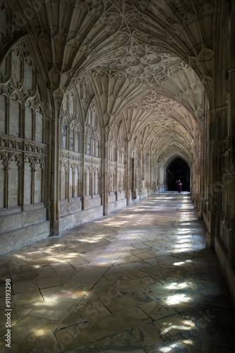 Photo Gloucester Cloisters