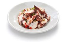 Tako Poke, Hawaiian Octopus Salad