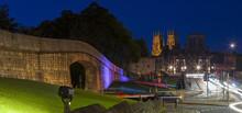 York At Night, England.