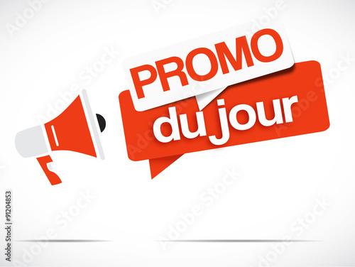 Fotografía  mégaphone : promo du jour