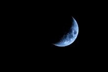 Quarto Di Luna D'argento