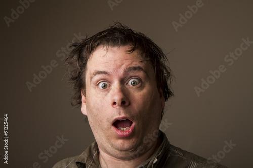 Fotografie, Obraz  Surprised expression