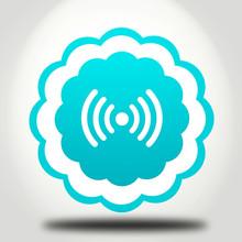 Wirelles Icon On White Background