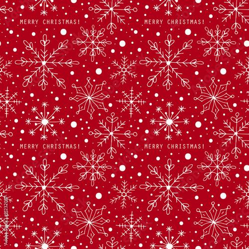 swiateczny-wzor-na-czerwonym-tle
