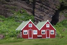 Two Beautiful Scandinavian Red Houses
