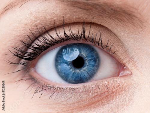 Obraz Woman eye - fototapety do salonu