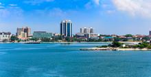 Panorama Of Dar Es Salaam City...