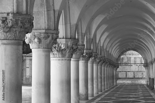 Staande foto Artistiek mon. Doge's Palace, Saint Marks Square, Venice, Italy