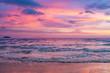canvas print picture - Romantic Sunset
