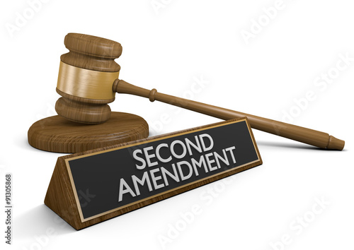 Photo  Legal challenge to the Second Amendment right to keep and bear arms