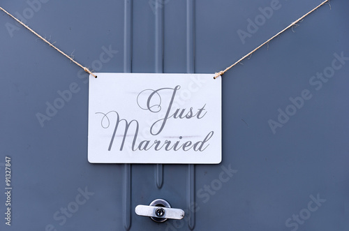 Photo  just married