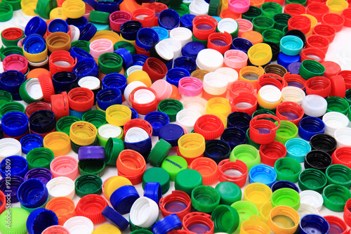 pet caps recycle background #91355809