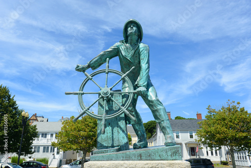 Fototapeta Gloucester Fisherman's Memorial (a