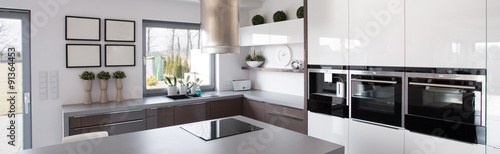 New technology kitchen equipment Tableau sur Toile