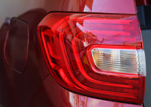 Close Up Of Rear Red Lighthous...
