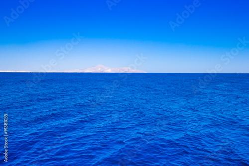 Fotobehang Zee / Oceaan blue sea