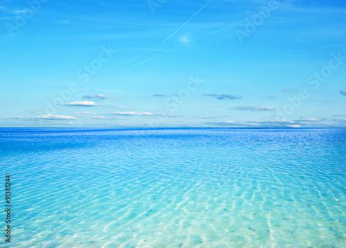 Poster Mer / Ocean blue sea