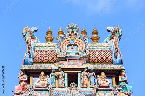 Photo  Detail of Sri Mariamman temple