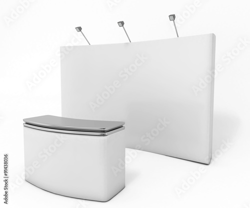 Trade Show Mockup - Exhibition stand