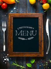 Cafe Menu Restaurant Brochure....