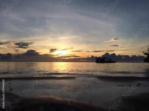 Fotografie, Obraz  Por do sol