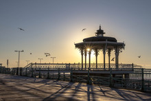 Brighton Bandstand And West Pier
