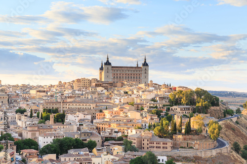 Foto op Aluminium Madrid Toledo is capital of province of Toledo near Madrid