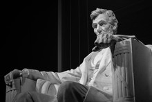 Lincoln Memorial In Washington...