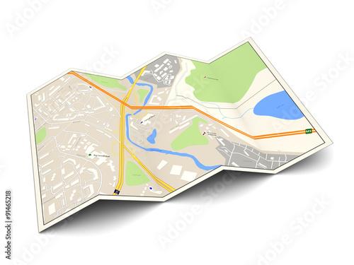 Fotografía  city map