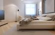 Idea of art deco bedroom