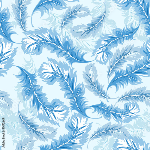 niebieskie-piorka-na-blekitnym-tle