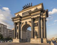 Триумфальная арка в Москве.