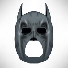 Superhero Grey Mask