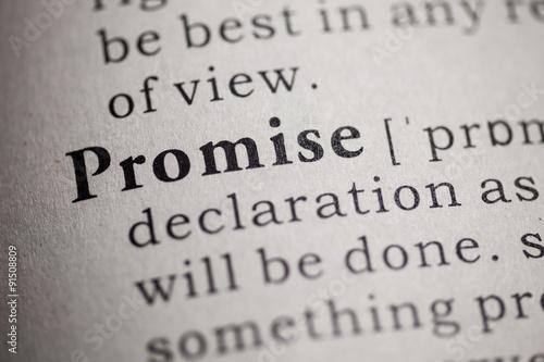 Valokuvatapetti Promise