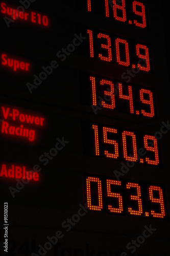 Fotografija  Gasoline prices