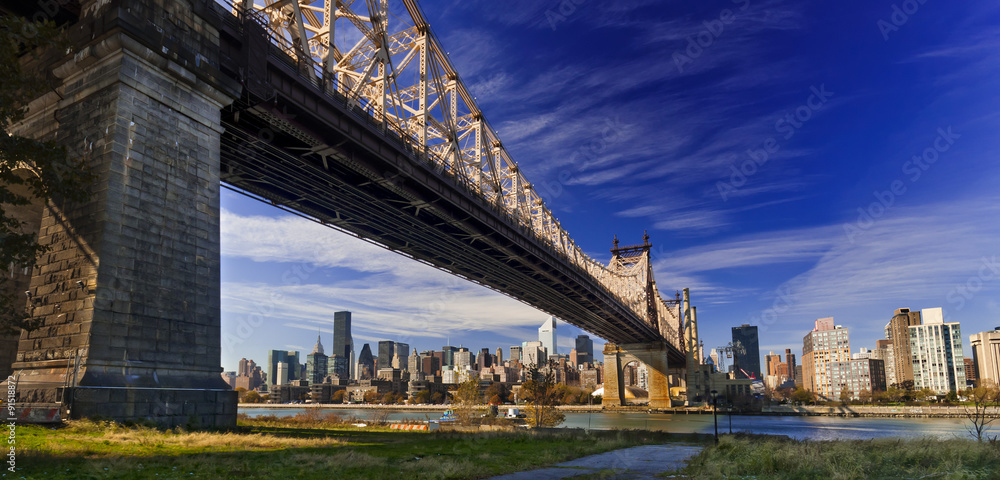 Fototapety, obrazy: Ed Koch Queensboro Bridge, also known as the 59th Street Bridge