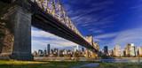 Fototapeta Nowy Jork - Ed Koch Queensboro Bridge, also known as the 59th Street Bridge