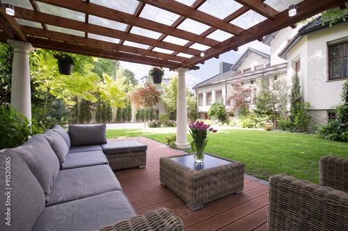 Fotografia  Luxury garden furniture