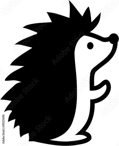 Fotografia, Obraz Hedgehog comic