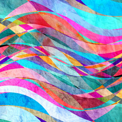 Fototapeta Marynistyczny abstract wave