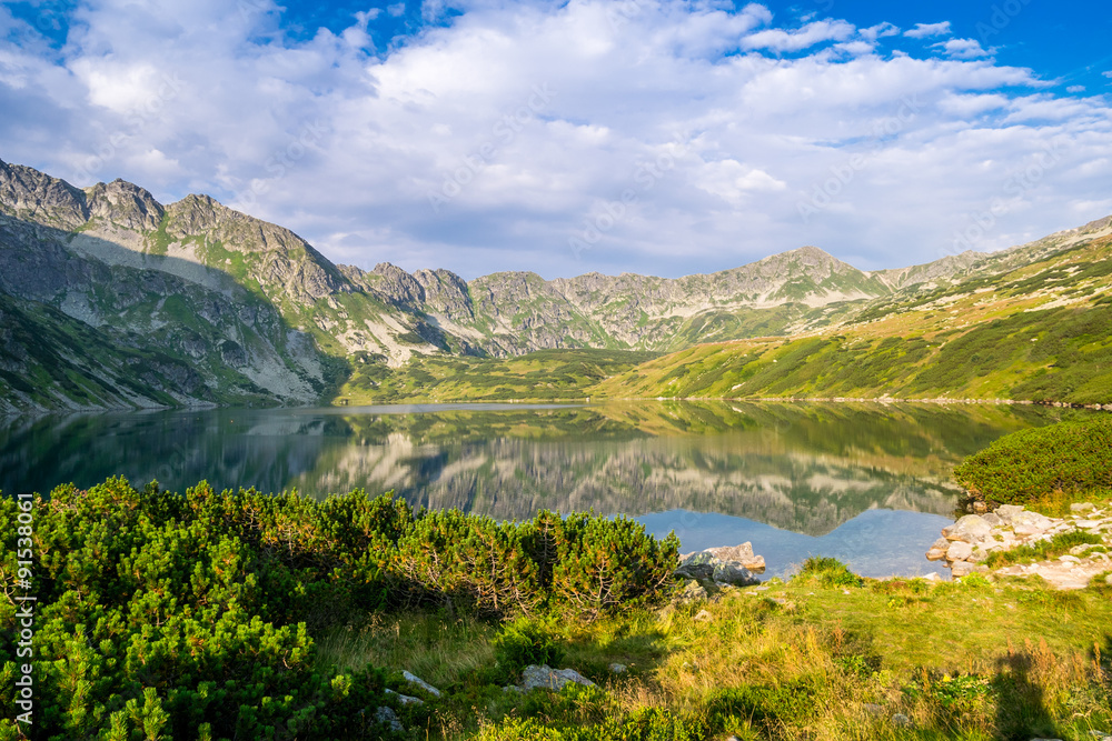 Beautiful scenery of Tatra Mountains National Park