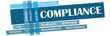 Compliance Blue Stripes With K...