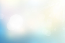 Sunlight And Soft Pastel Color Abstract Background.